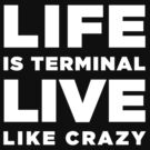 LIFE Is Terminal LIVE Like Crazy by ClothedCircuit