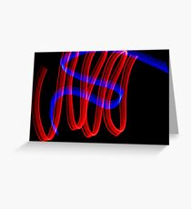 abstract light 4 Greeting Card