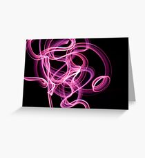 abstract light 5 Greeting Card