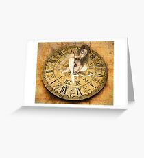 """Carnival of Time"" Greeting Card"