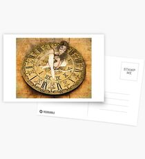 """""""Carnival of Time"""" Postcards"""