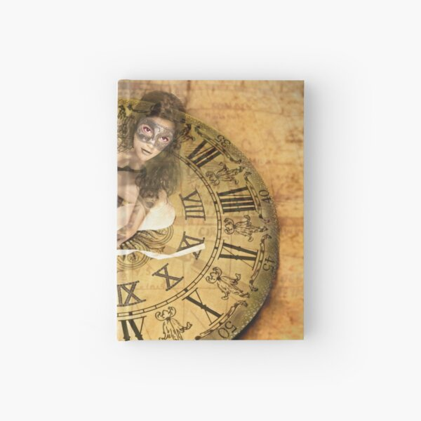 """Carnival of Time"" Hardcover Journal"