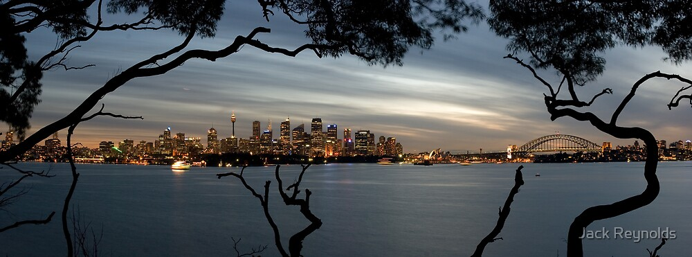 Sydney Harbour by Jack Reynolds