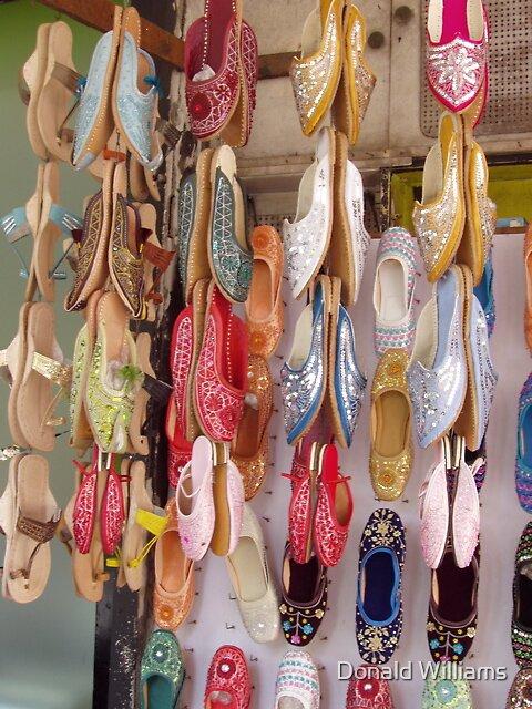 Shoe shop, Mumbai, 2005 by Donald Williams