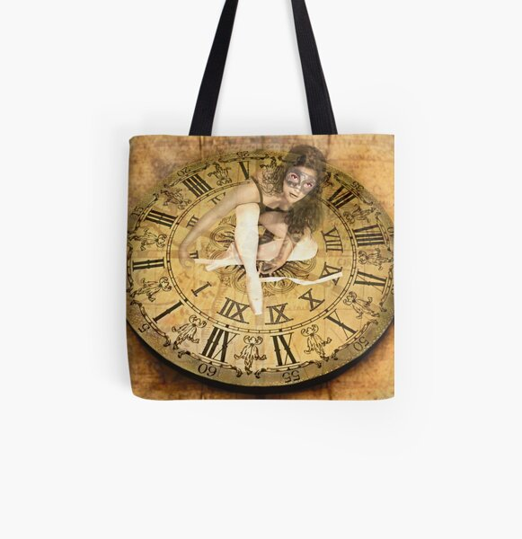 """Carnival of Time"" All Over Print Tote Bag"