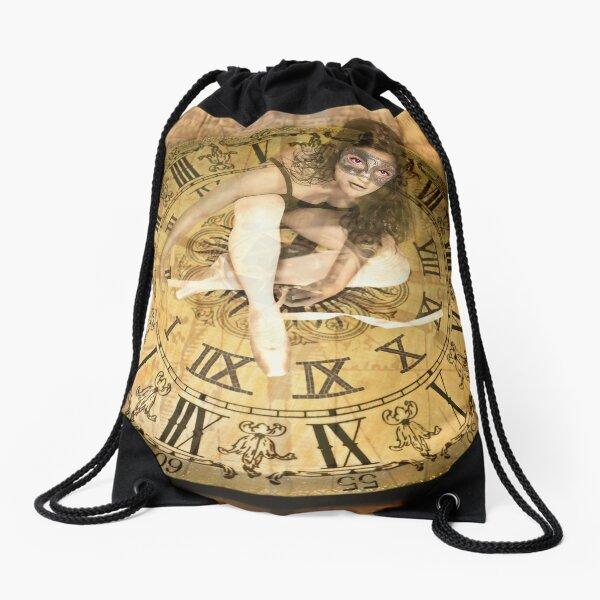 """Carnival of Time"" Drawstring Bag"