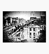 The oldest surviving picture of a person.  Photographic Print