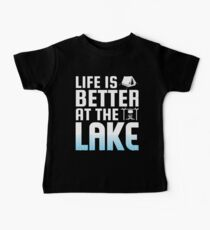 Life Is Better At The Lake Summer Kids Clothes
