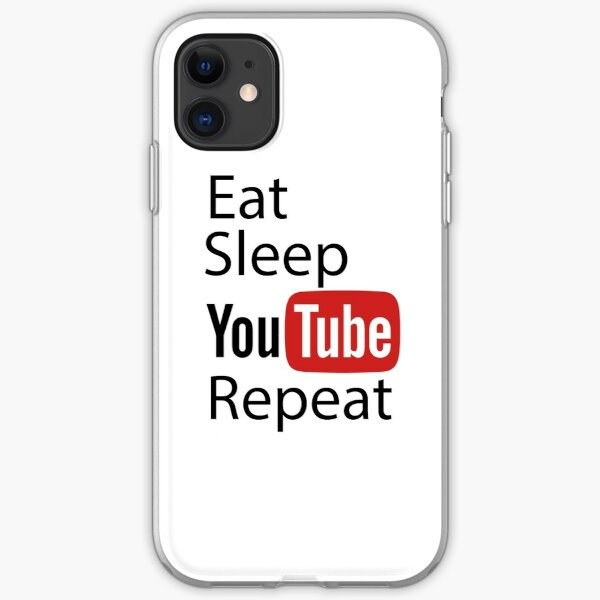 Youtube repeat iPhone Soft Case
