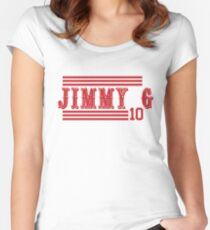 """Jimmy G """"San Francisco"""" Fitted Scoop T-Shirt"""