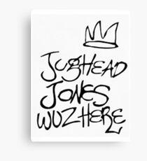 Jughead Jones Case Canvas Print