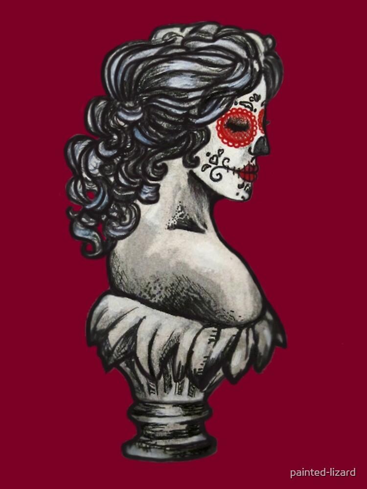 Sugar Skull Sweetheart by painted-lizard