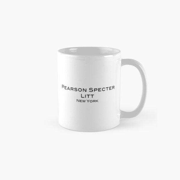 Suits - Pearson Specter Litt - White Coffee Mug Classic Mug
