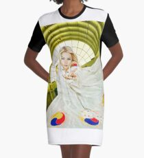 """Hope in Sight"" Graphic T-Shirt Dress"