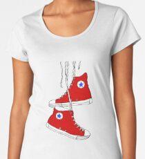 All-Star (Red) Women's Premium T-Shirt