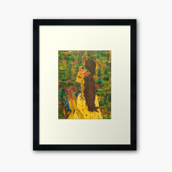 Judging You Framed Art Print