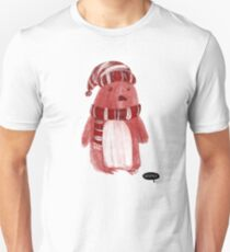 Rosy Penguin by Vixtopher T-Shirt