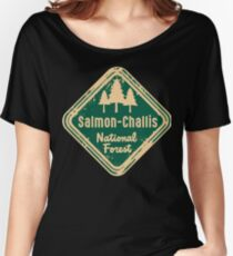 Salmon-Challis National Forest Women's Relaxed Fit T-Shirt