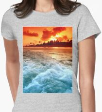 The ocean, the meaning of it all Women's Fitted T-Shirt