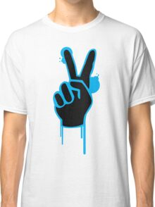peace - love- groovy  Classic T-Shirt