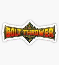 BOLT THROWER STICKER Sticker