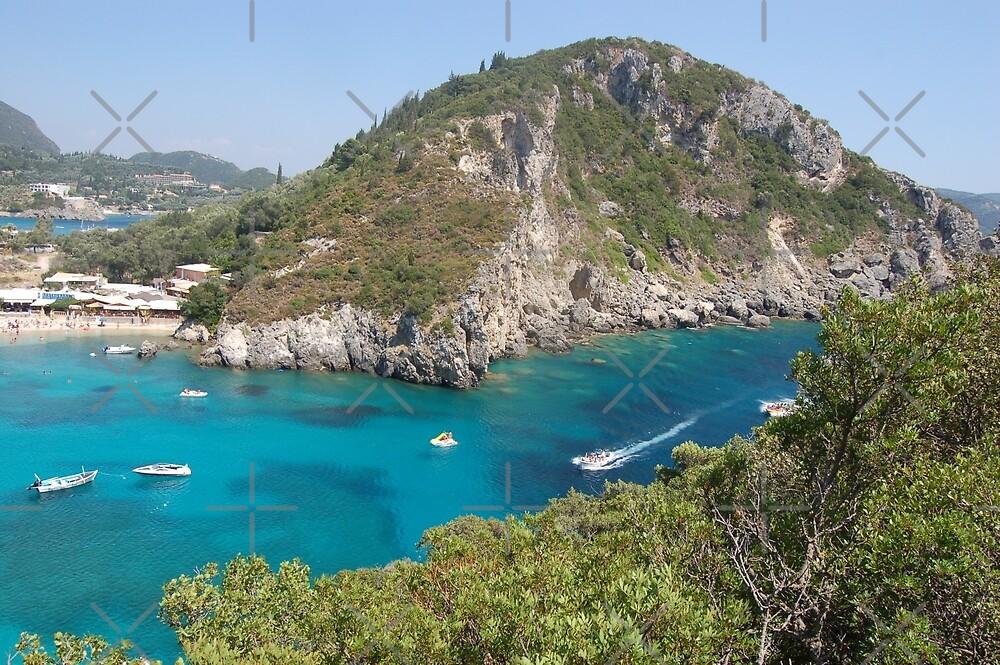 Beautiful Corfu in Mediterranean by loiteke