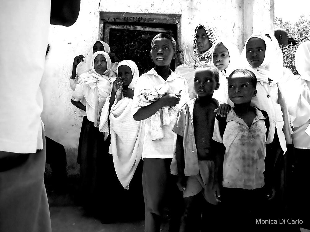 Childrens in Zanzibar island, Tanzania by Monica Di Carlo