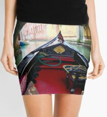 La Gondola in Venezia Mini Skirt
