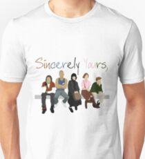 Mit freundlichen Grüßen, der Frühstücksclub Slim Fit T-Shirt