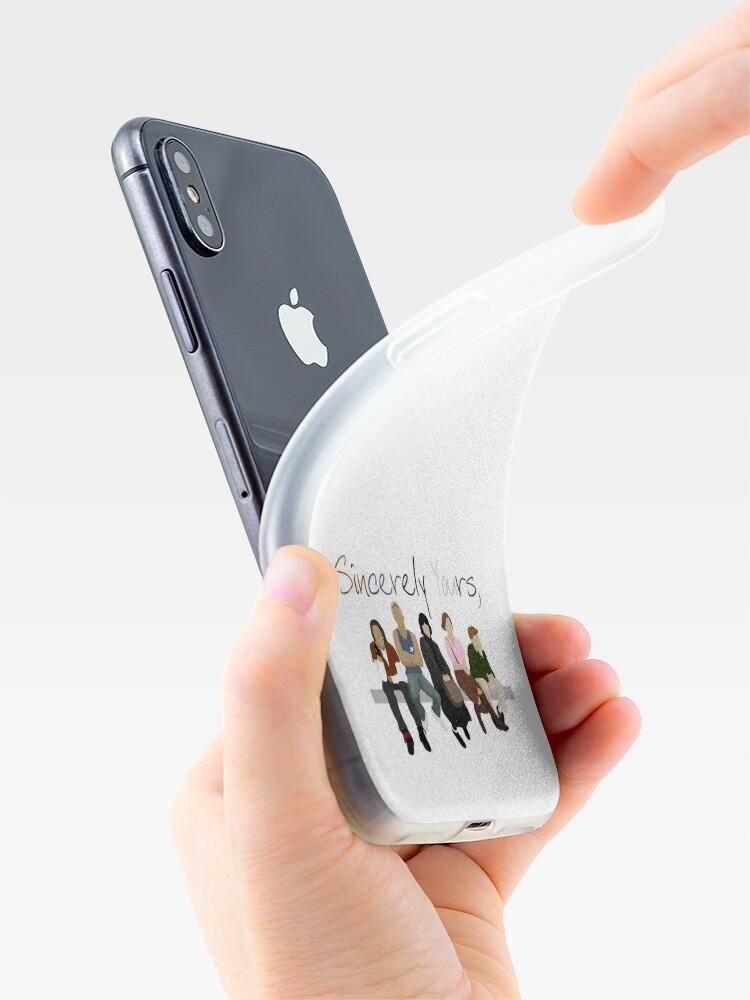 Alternative Ansicht von Mit freundlichen Grüßen, der Frühstücksclub iPhone-Hülle & Cover