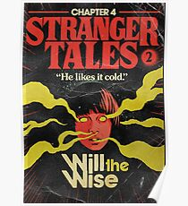 Stranger Things Chapter 4 Will the Wise Poster