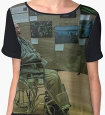 Fred with his exhibits Diamond Valley Photo Society 20170909 1275  Women's Chiffon Top