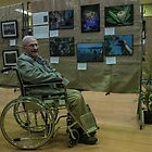 Fred with his exhibits Diamond Valley Photo Society 20170909 1275  by Fred Mitchell
