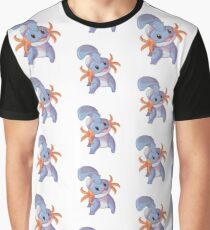 Cute Mudkip Graphic T-Shirt