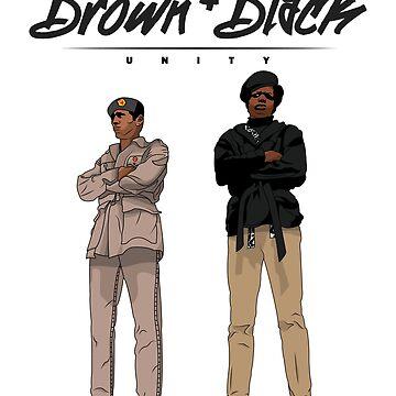 Brown + Black Unity by thekhob