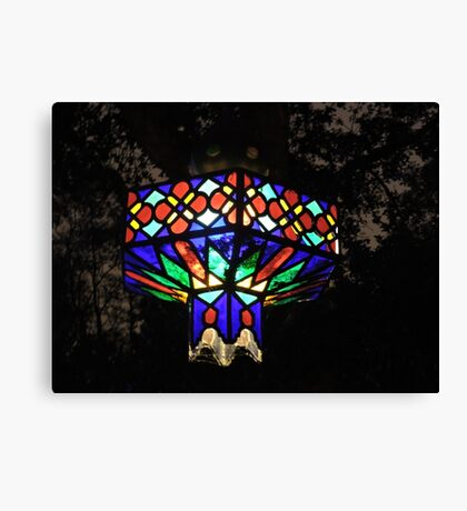 Light Of Crushed Jewels Canvas Print