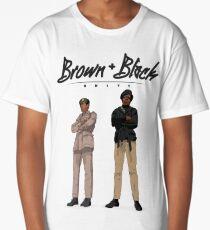 Brown + Black Unity Long T-Shirt