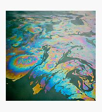Our damaged ocean Photographic Print