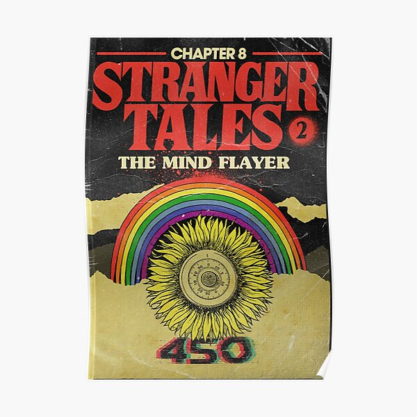 Stranger Things Chapter 8 The Mind Flayer Poster