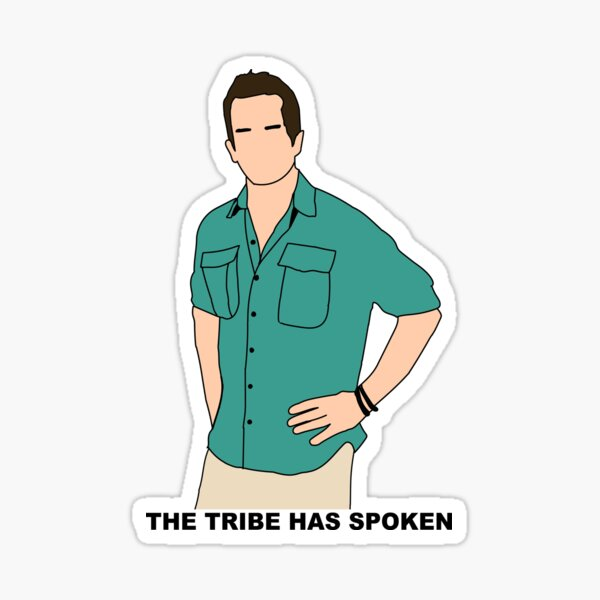 CBS Survivor Jeff Probst- The Tribe Has Spoken Sticker