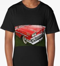 1958 Chevy Impala Long T-Shirt