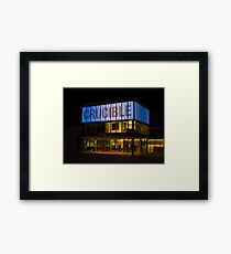 The Crucible Theatre, Sheffield Framed Print