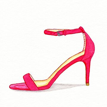 One Red Shoe by allybdesign