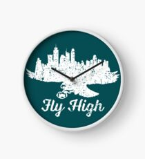 Fly High Eagles Distressed Uhr