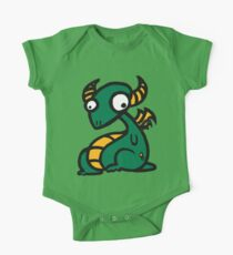 Craig the Dragon - Green and Yellow Kids Clothes