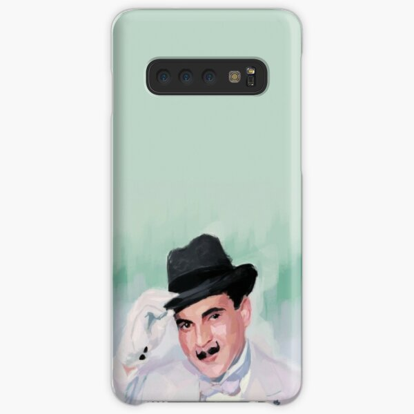 Hercule Poirot tips his hat to you Samsung Galaxy Snap Case