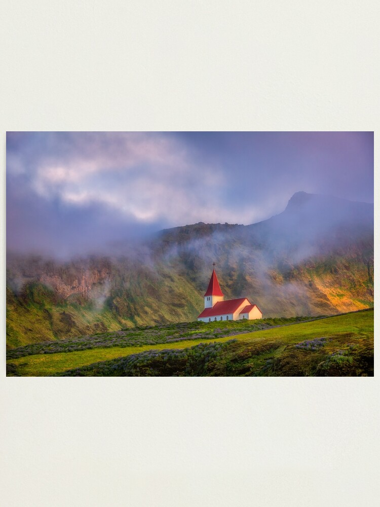 Alternate view of Vik, Iceland Photographic Print