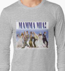 Camiseta de manga larga Póster de Mamma Mia Cast