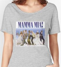 Mamma Mia Cast Poster Women's Relaxed Fit T-Shirt