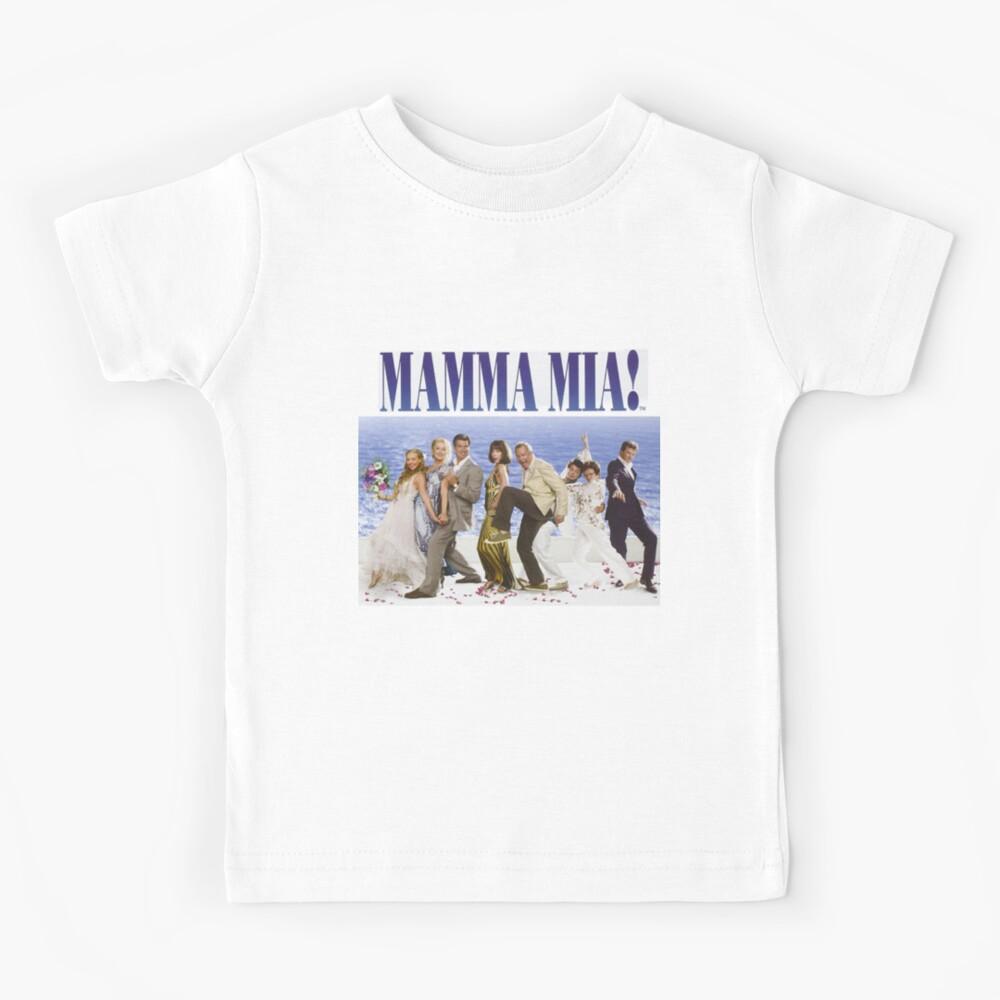 Mamma Mia Cast Poster Kids T-Shirt